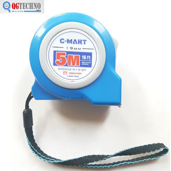 Thước cuộn 5x19mm D0002-519-GY C-MART