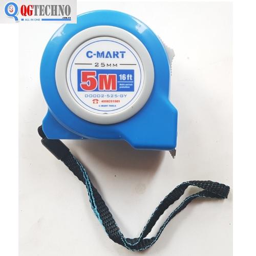 Thước cuộn 5x25mm CD0002-525-QY C-MART