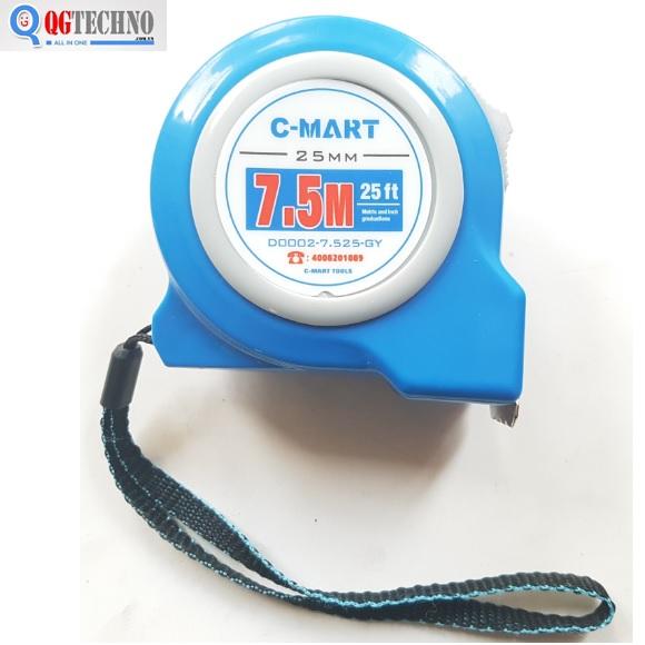 Thước cuộn 7.5x25mm D0002-7.525-GY C-MAR