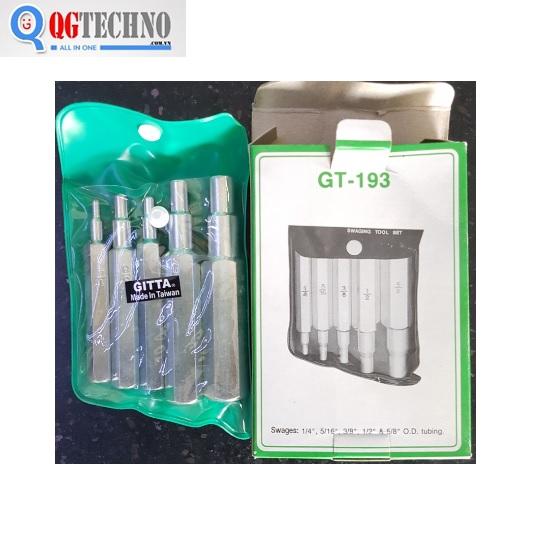 Bộ cốt nông ống 5 cây GITTA,GT-193