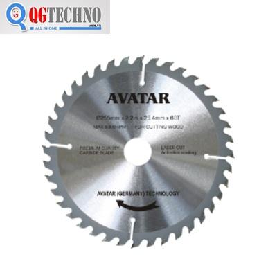 Lưỡi cưa gỗ AVATAR 180 mm x 40 răng