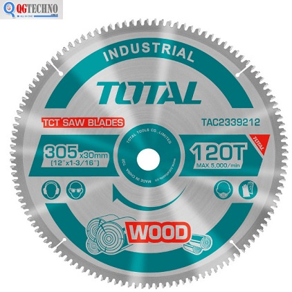 Lưỡi cưa nhôm Total 255mm x 100T TAC2337210