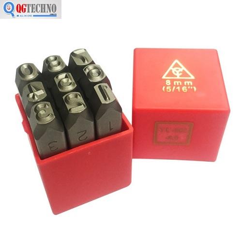 3mm Bộ đóng số 6 chi tiết Top YC-602-3.0