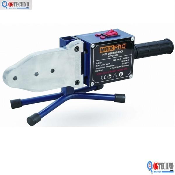 Máy hàn ống nhựa chịu nhiệt MAXPRO 20mm - 63mm MPPW750