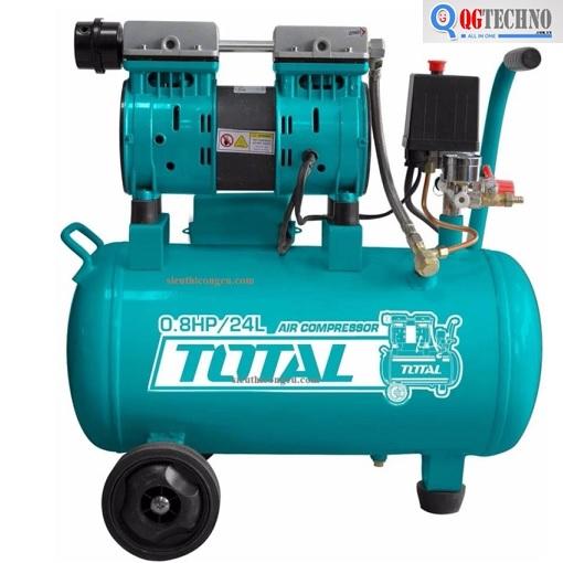 Máy nén khí không dầu dung tích 24L Total TCS1075242