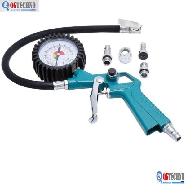 12bar Đồng hồ đo áp suất khí TOTAL TAT11601