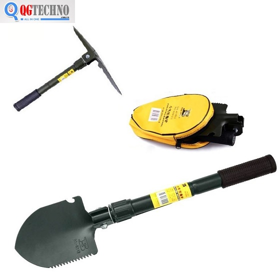 Bộ cuốc xẻng du lịch 4 in 1 Bosi Tools BS561312