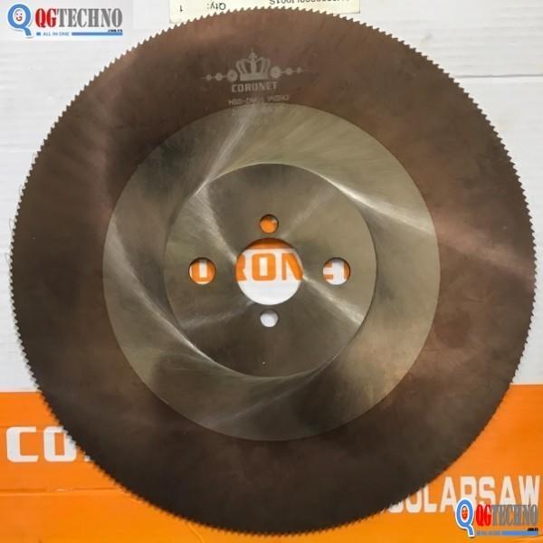 Lưỡi cưa đĩa cắt sắt-inox HSS 275×1.6×32mm Coronet