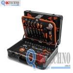 Vali đựng đồ nghề bằng nhôm 124 chi tiết KENDO KD-90702