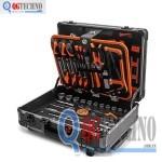 Vali đựng đồ nghề bằng nhôm 161 chi tiết KENDO KD-90703