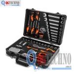Vali đựng đồ nghề bằng nhôm 76 chi tiết KENDO KD-90704