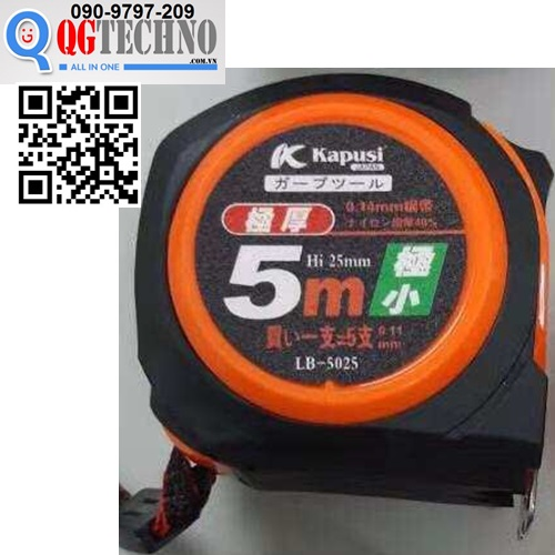 thuoc-cuon-keo-lo-ban-2-5m-x-25mm-kapusi-japan-lb-5025