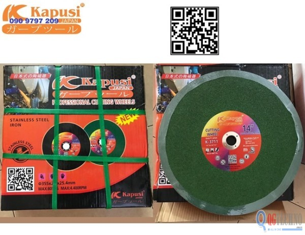 da-cat-kim-loai-inox-thep-xanh-cao-cap-355x2.5x25.4-mm-kapusi-k-3711
