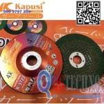 Đá mài Inox, Thép Xanh Japan Cao cấp 100x6x16mm KAPUSI K-3722